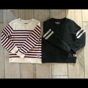 Bundle OshKosh B'gosh- toddler sweater 2 for 1